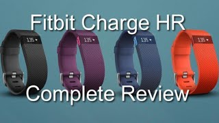 getlinkyoutube.com-Fitbit Charge HR - Complete Review