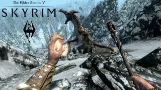 """getlinkyoutube.com-Skyrim - """" Le Dragon qui se casse la gueule """""""