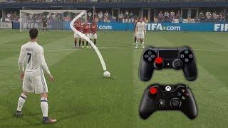 getlinkyoutube.com-FIFA 17 Knuckleball Power Free Kick Tutorial