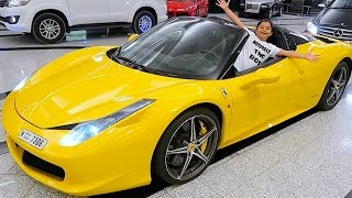 getlinkyoutube.com-10 Year Old Kid Ferrari Owner !!!