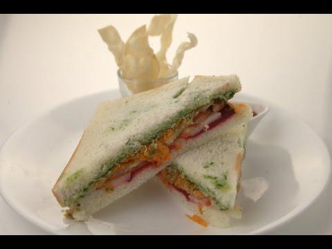Healthy Street Food Sandwich  - Be Fit Be Cool AAPI - VahRehVah