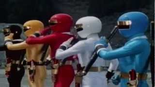 getlinkyoutube.com-Power Rangers Ultimate Team Up [MMPR - PRS]