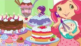 getlinkyoutube.com-Strawberry Shortcake Bake Shop Part 1 - best app demos for kids - Ellie