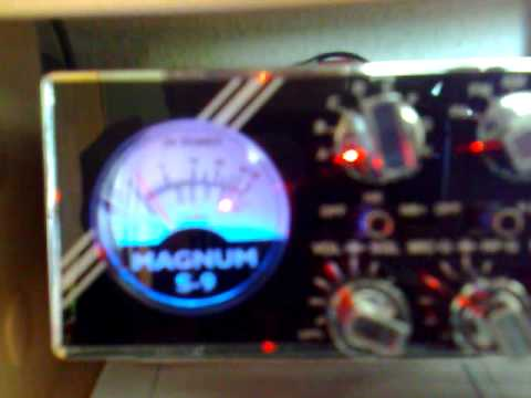 Magnum S-9 Radio - Short skip into USA on CB-channel 39 LSB