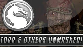 getlinkyoutube.com-Mortal Kombat X: All Character Faces Unmasked - Torr, Smoke, Rain & More! (Mortal Kombat 10)