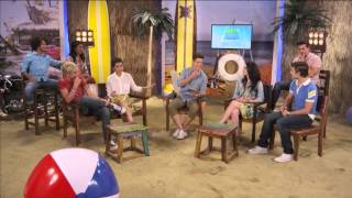 getlinkyoutube.com-Teen Beach Movie - Live Chat - The Whole Cast - Part 2