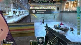 getlinkyoutube.com-[Truy Kich] Trung Quốc Game Play: M249 vs glock 18 zombie v3