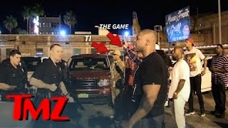 getlinkyoutube.com-Game and T.I. In INTENSE Standoff With LAPD After Fight | TMZ