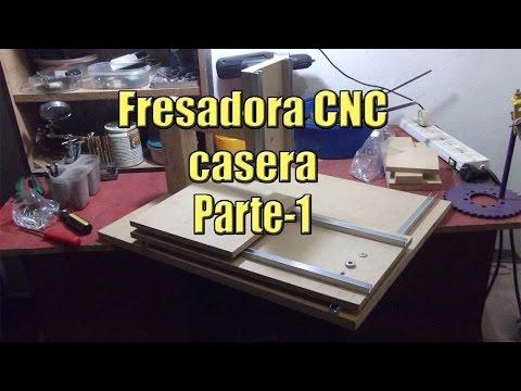 CONSTRUCCION DE UNA MAQUINA CNC CASERA MUY SIMPLE parte 1