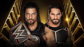 getlinkyoutube.com-WWE 2K16 PS2: Roman Reigns vs Seth Rollins - Money in the Bank 2016 - WWE WHC