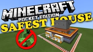 getlinkyoutube.com-✔ Most Defended House in Minecraft PE