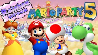 getlinkyoutube.com-ABM: Mario Party 5 GAMEPLAY!! *Rainbow Dream PARTY MODE!!* *HD*