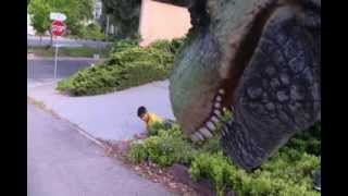 getlinkyoutube.com-T-Rex Ambush (Rejected Scene from Dinosaur Attack 1.5)