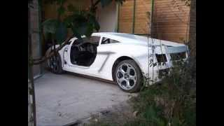 getlinkyoutube.com-lamborghini gallardo replica build