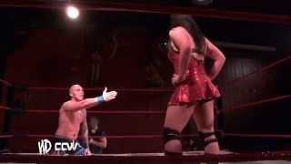 getlinkyoutube.com-Intergender Wrestling // Kazza G V Xavier Burns