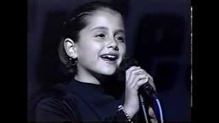 getlinkyoutube.com-Ariana Grande at 8 years old singing National Anthem