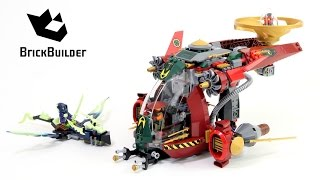 getlinkyoutube.com-Lego Ninjago 70735 Ronin R.E.X. - Lego Speed build