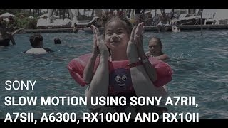 How to Film in Slow Motion Using Sony a7Rii, a7Sii, a6300, RX100iv and RX10ii Cameras
