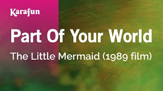 getlinkyoutube.com-Karaoke Part Of Your World - Little Mermaid *