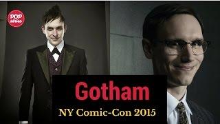 NYCC 2015: Cory Michael Smith e Robin Taylor de Gotham