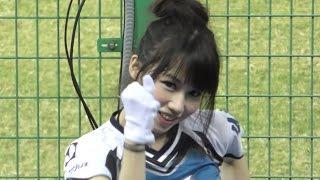 getlinkyoutube.com-超絶カワイイッ♥ラミガールズ♥♥小帆  伊伊 台湾プロ野球pretty cheerleader 陳雁風應援曲