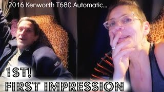 getlinkyoutube.com-2016 Kenworth Automatic - 1st First Impressions