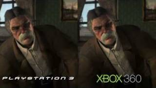getlinkyoutube.com-Red Dead Redemption Ps3 Vs Xbox 360