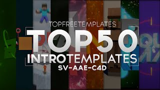 (BEST) Top 50 FREE Intro Templates 2015 - SV/AAE/C4D