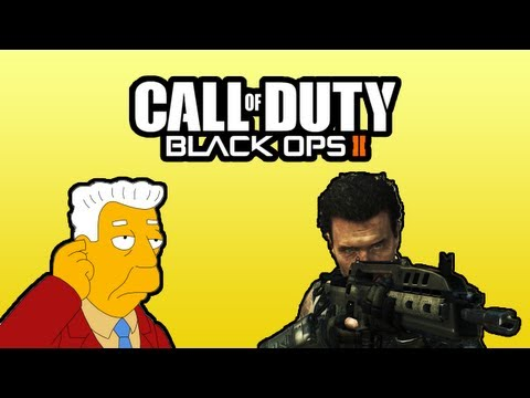 Black Ops II Funny Moments - H2O Delirious the News Reporter and Epic Movie Hero Fail