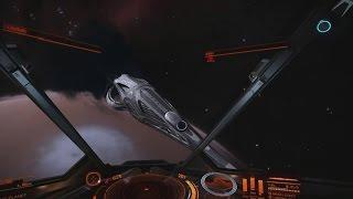getlinkyoutube.com-Elite Dangerous Premiere - Imperial Capital Ship vs Kerrrash and friends!