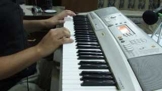 getlinkyoutube.com-Enta Omry (Piano) on Yamaha PSR-A300 إنت عمري - بيانو