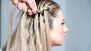 getlinkyoutube.com-Waterfall braid