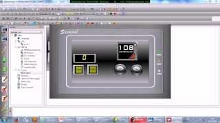 getlinkyoutube.com-PLC Board And HMI Preview