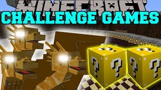 getlinkyoutube.com-Minecraft: KING GHIDORAH CHALLENGE GAMES - Lucky Block Mod - Modded Mini-Game