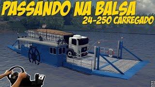 getlinkyoutube.com-24-250 CARREGADO PASSANDO NA BALSA