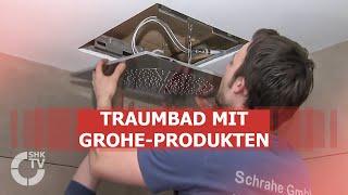 getlinkyoutube.com-SHK-TVmagazin: Schrahe GmbH: Bad-Ausstattung mit Grohe-Produkten