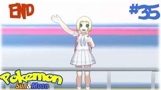 getlinkyoutube.com-Pokémon Sun&Moon #35 การต่อสู้ครั้งสุดท้าย และ การจากลา [END]