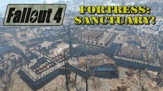 getlinkyoutube.com-Fallout 4  -   Fortress: Sanctuary!