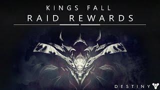 getlinkyoutube.com-Destiny: Kings Fall Hard Mode Raid Looting Rewards! Epic Smite Of Merain!