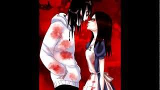 getlinkyoutube.com-Jeff The Killer and Alice Liddell - Bloody Mary [Lady Gaga]