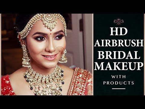 Real Bride   Asian Bridal Traditional Makeup Tutorial   HD AIRBRUSH Bridal Makeup Tutorial - YouTube