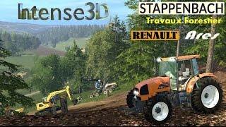 getlinkyoutube.com-Farming Simulator 15 Renault Ares 620 RZ Stappenbach Forestier #3
