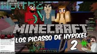 getlinkyoutube.com-LOS PICASSO DEL HYPIXEL 2 #JaidefinichonVIVE en Español - GOTH
