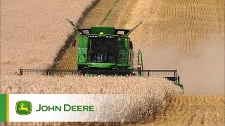 John Deere S Series Combines - Active Terrain Adjustment