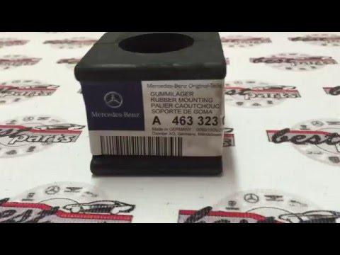 A4633230485, A Втулка переднего стабилизатора Mercedes G W461/W463