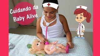 getlinkyoutube.com-Baby Alive comilona vai ao médico!