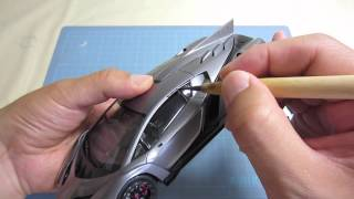 getlinkyoutube.com-【車のプラモデル製作】フジミ ランボルギーニ ヴェネーノpart 8 FUJIMI Lamborghini Veneno part8