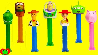 getlinkyoutube.com-Toy Story Pez Dispensers