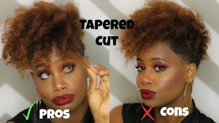 getlinkyoutube.com-The Pros and Cons of a Tapered Hair Cut