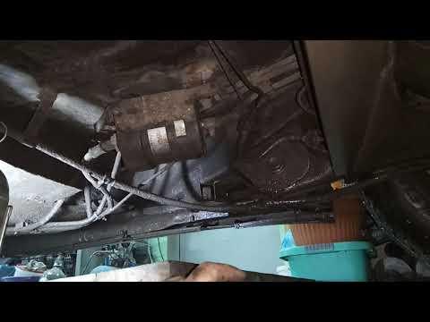 CHERY AMULET замена топливного фильтра